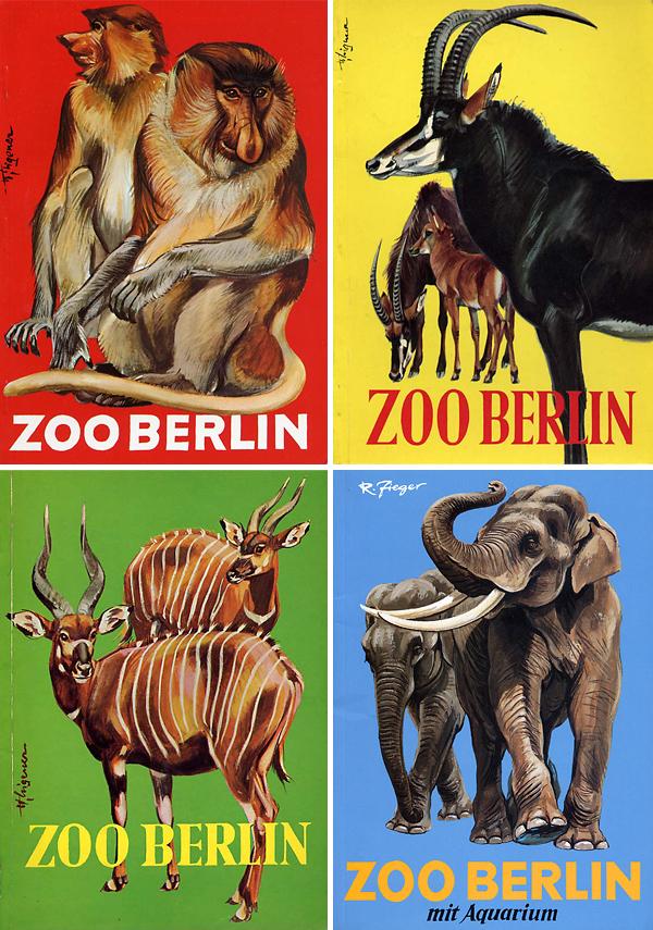 Berlin Zoo, antelope, elephant, monkey, bongo