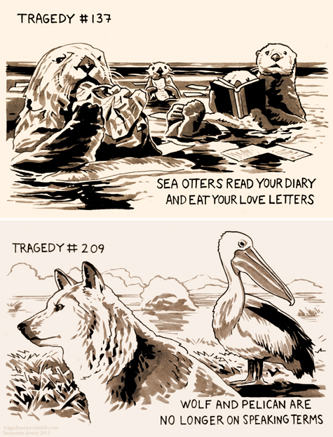tragedy series by Benjamin Dewey