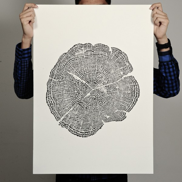 Tree of Life, printed by Degree