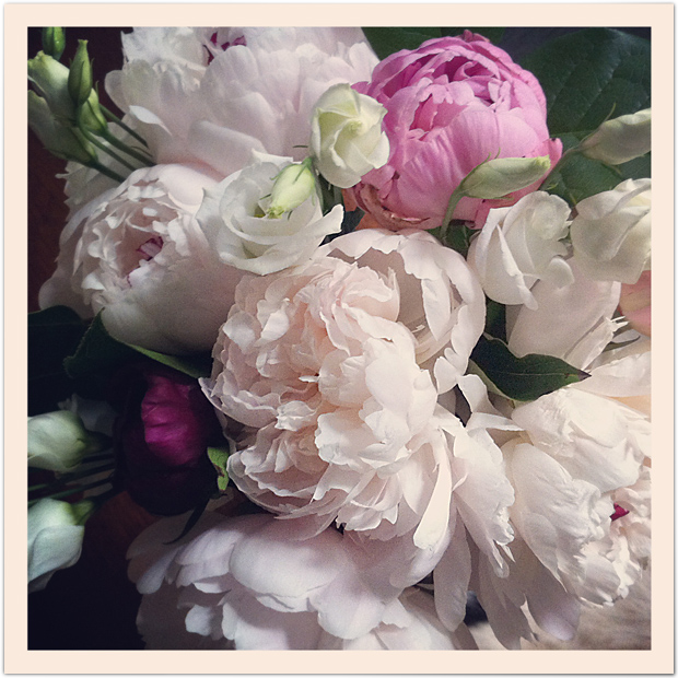 Peonies, mother's day, Mary Oliver
