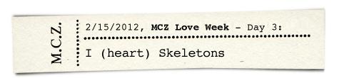MCZ, HMNH, skeletons