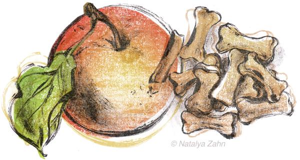 Sojos Good Dog Treats in apple dumpling flavor