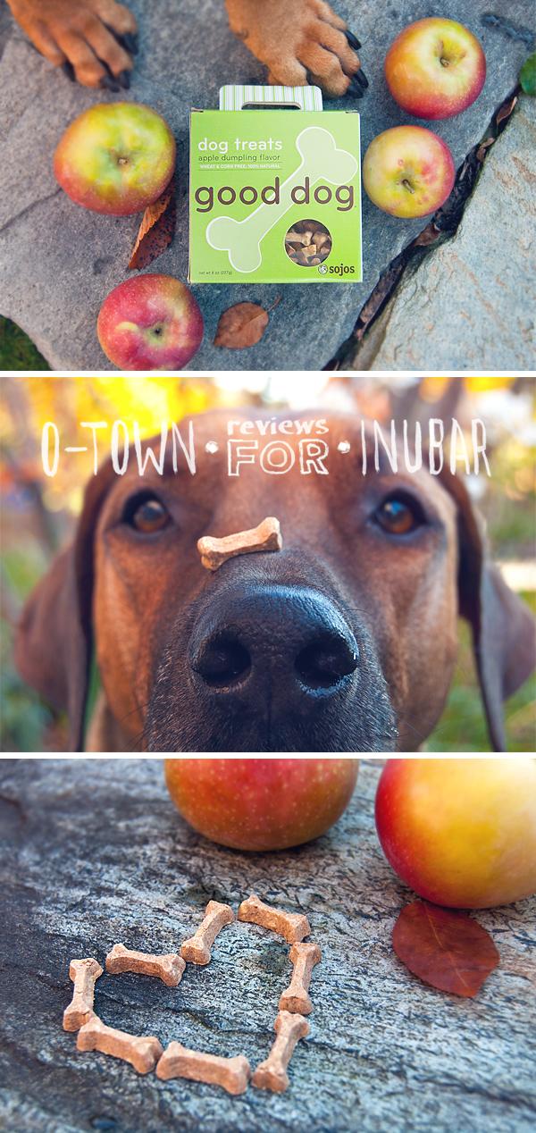Oscar the Rhodesian Ridgeback reviews Sojos Good Dog Treats for inubar