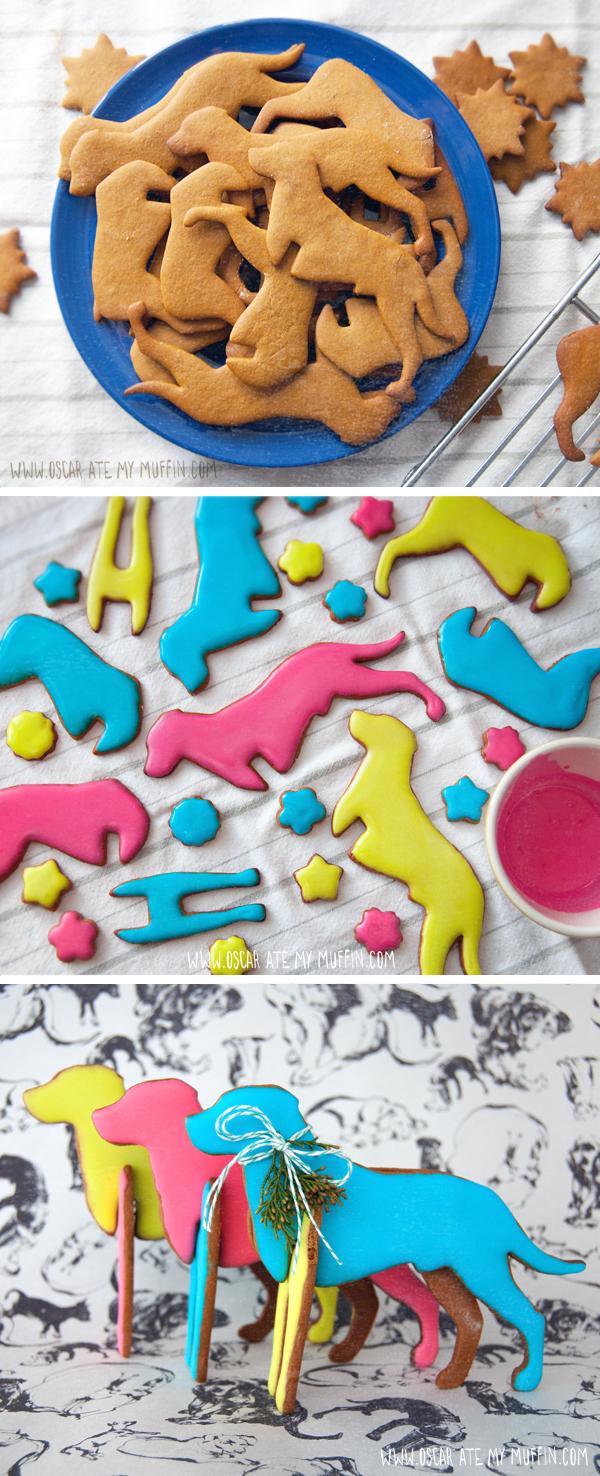 Rhodesian Ridgeback gingerbread cookie cutter